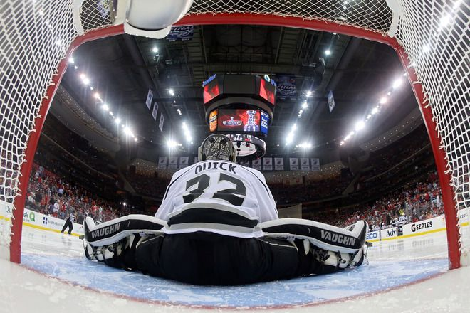 YA BUDDY!!!! Jonathan Quick (Game 2, 2012 Stanley Cup