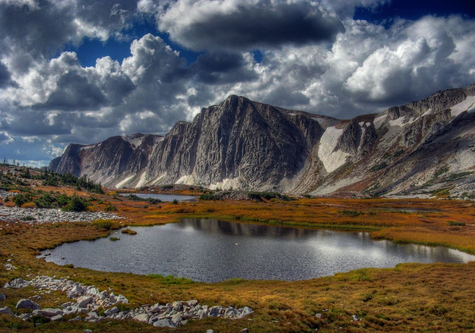 Snowy Range, Medicine Bow Mountains, WY One of the most