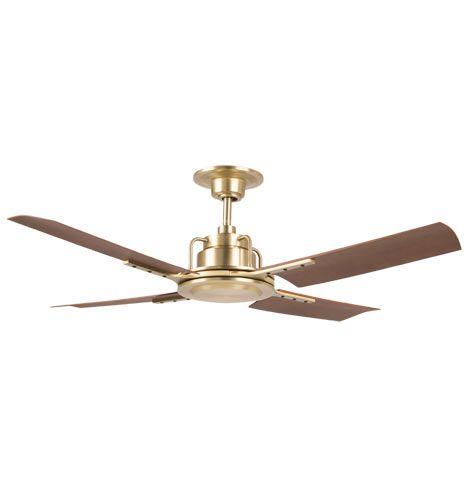 Peregrine Ceiling Fan Brushed Satin Walnut Brown Blades Industrial Ceiling Fan Led Ceiling Fan Ceiling Fan