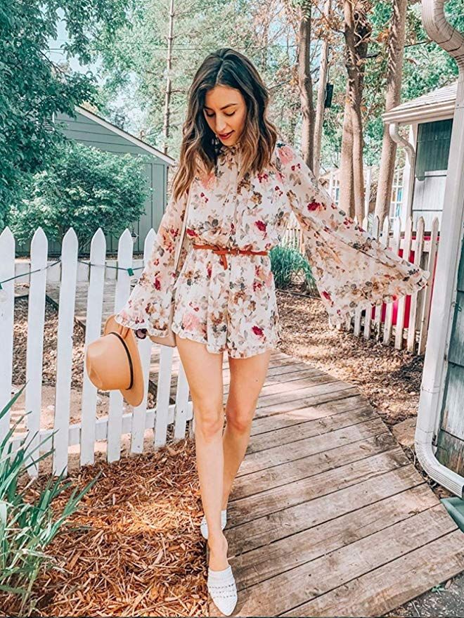 Women's Floral Printed Ruffle Bell Sleeve Loose Fit Jumpsuits ...  #jumpsuit #floral #ruffles #bellsleeves #loosefit #womensjumpsuits #fashionjumpsuits #trendyoutfits #outfits #outfitoftheday #outfitscasuales #outfitideas #womensclothing #womenscasualfashion #womensclothes