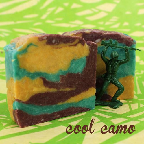 Hot Process Series: Crock Pot Camo - Soap Queen CPHP: Crock Pot Hot Process advanced