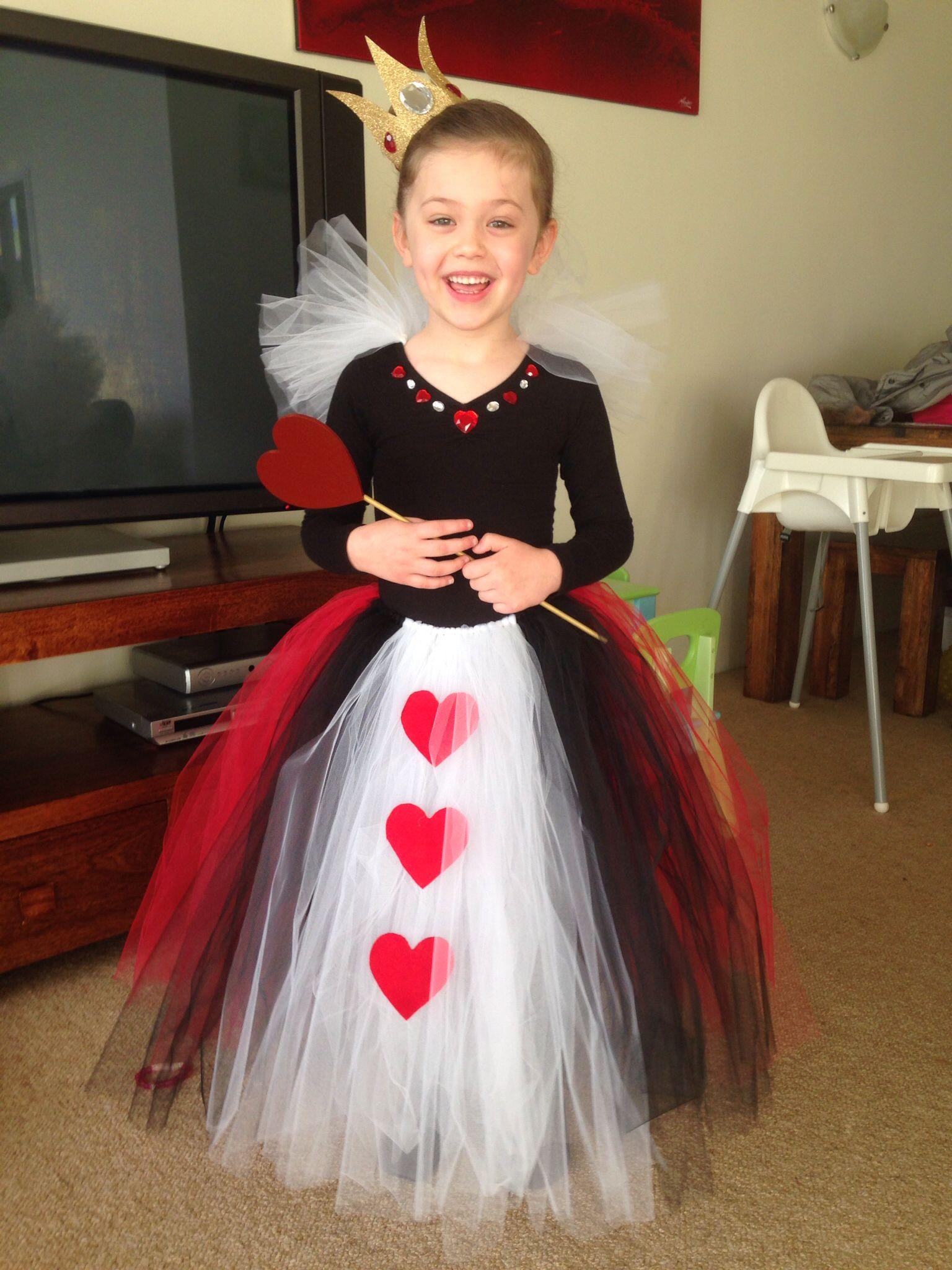 No Sew Queen Of Hearts Costume Queen Of Hearts Costume