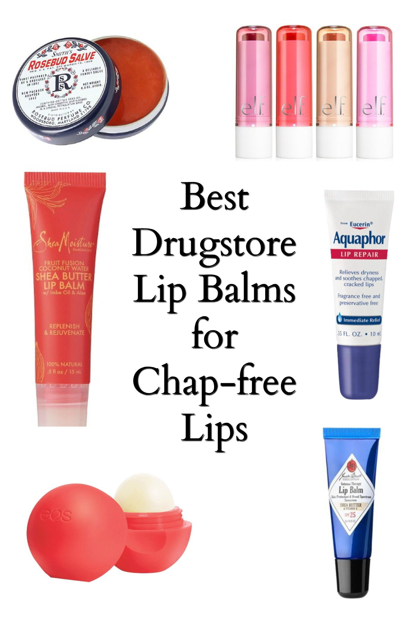 The Best Drugstore Lip Balms That Keep Your Lips Chap Free With