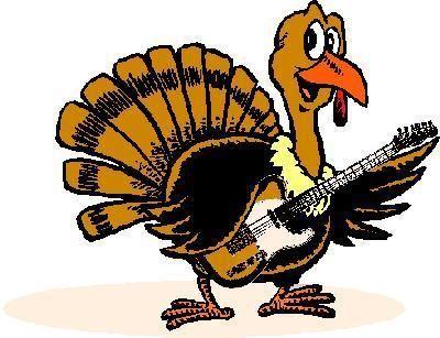 turkey guitar - Google Search   Thanksgiving clip art, Turkey cartoon,  Thanksgiving history
