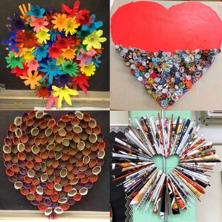 From valentines for vets to recycled materials used to for Investigatory project recyclable materials