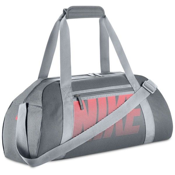209e4a445d370 Nike Gym Club Duffel Bag (€33) ❤ liked on Polyvore featuring bags and  luggage