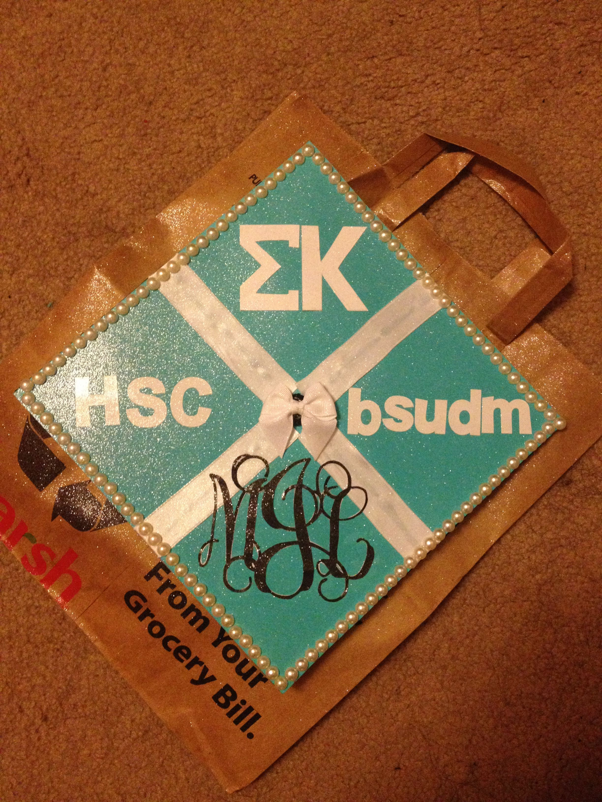 Tiffany And Co Graduation Cap Featuring All My Activities