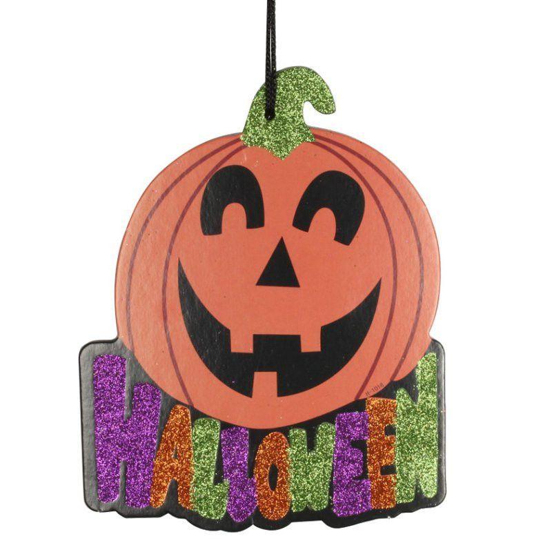 Halloween Charm Strap Halloween Decorations Halloween Pumpkin Paper Props Ghost Skull