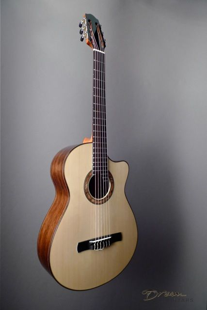 Pin On Nylon Strings Guitar
