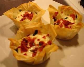 Appetizer spinach and cheese phyllo cups easy weeknight meals a food and cooking blog with a focus on good home cooking fun food easy weeknight meals and approachable food for any level cook forumfinder Gallery