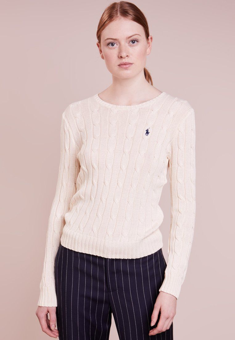 bd3a7cfded333 Polo Ralph Lauren JULIANNA - Pullover - cream - ZALANDO.BE