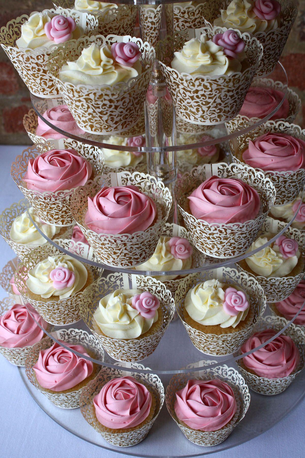 Wedding Cupcakes Gallery In 2020 Bridal Shower Cupcakes Wedding
