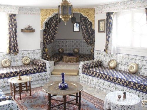 Salon artisanal tunisien | sallon en 2019 | Déco salon, Salon et ...