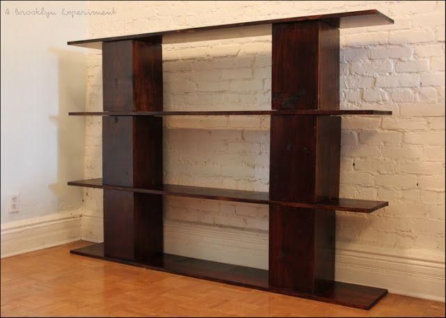 Diy Attractive Cinderblock Concrete Block Bookshelf Wow This
