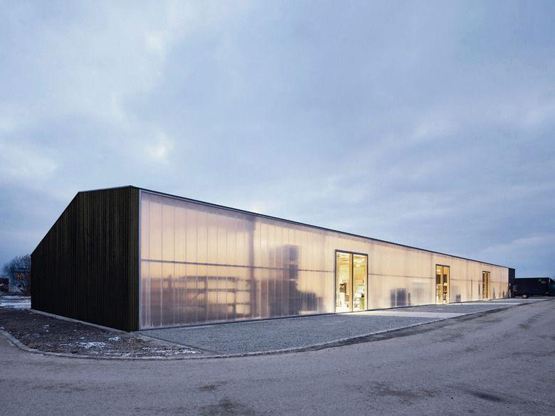 Architektur Fassade schreinerei bei freising polycarbonate panels arch and adaptive reuse