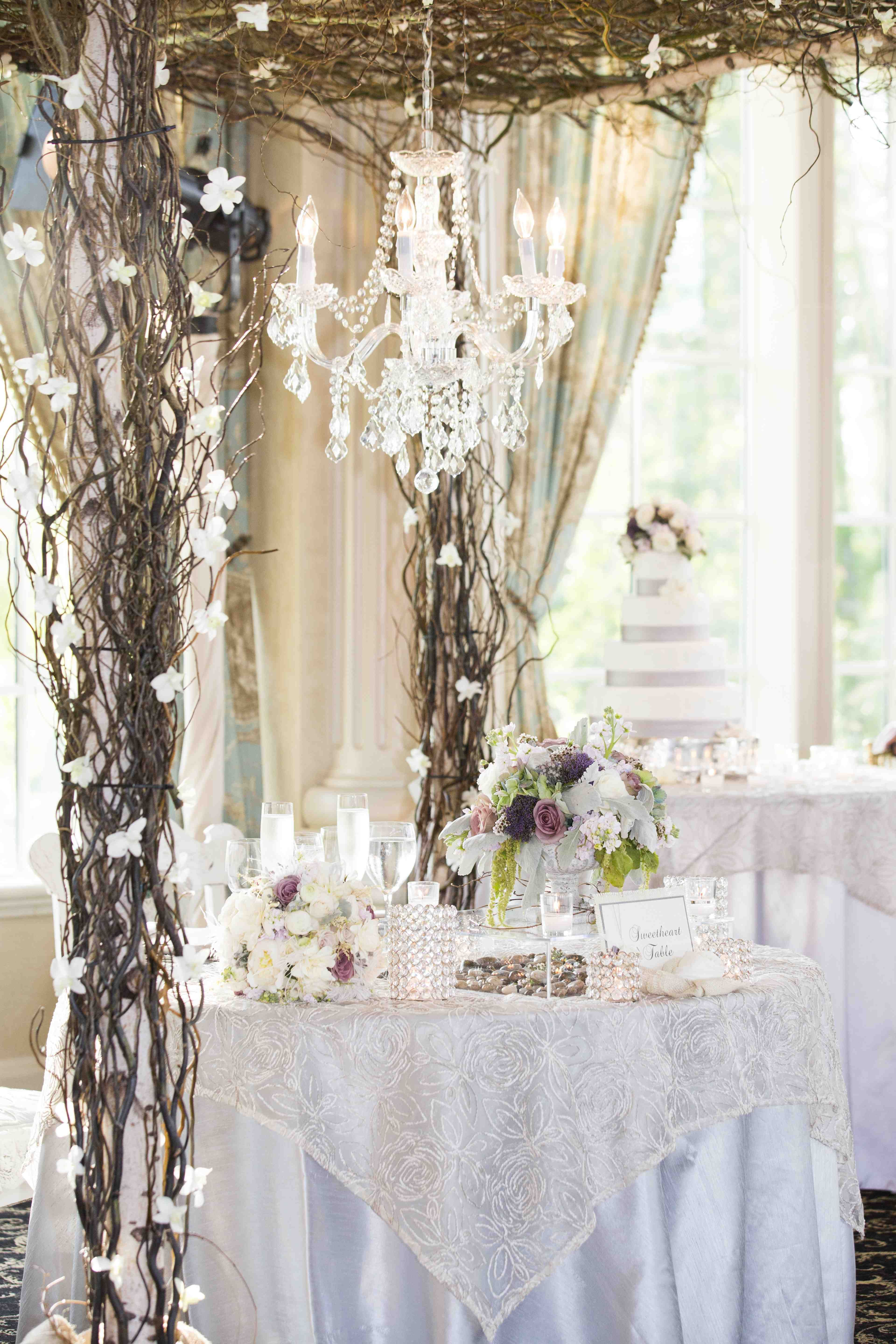 Enchanting Decor Ideas For Your Sweetheart Table Used Wedding