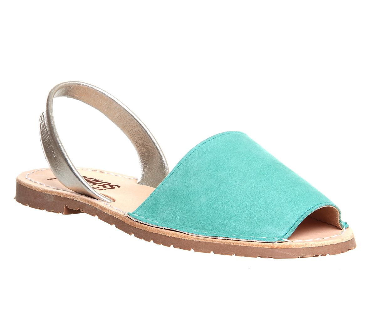 Solillas Solillas Sandal Turquoise Silver - Sandals