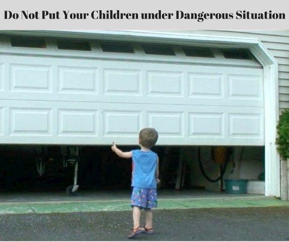 Tips For Garage Door Safety For Children Kids Greeley Garage