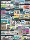 Very Nice Collection of 50 different Ships on Stamps.................L 110