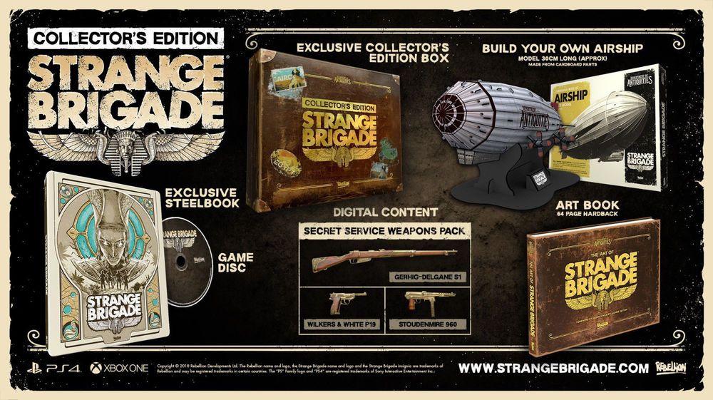 Strange Brigade Collector S Edition Xbox 1 One Brand New