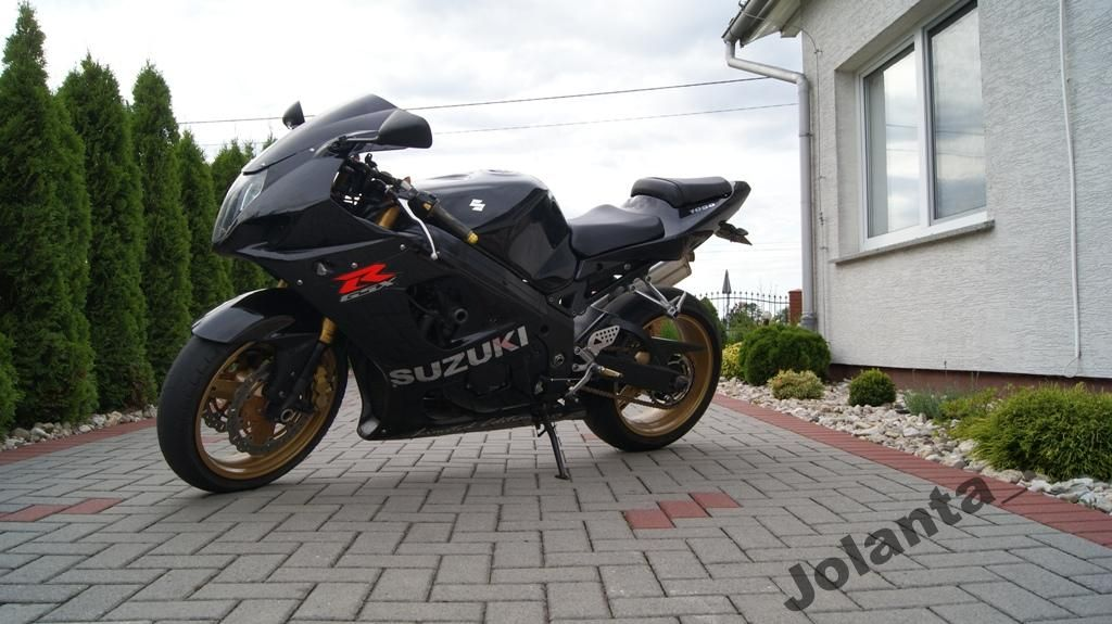 Suzuki Gsxr Gsx R K4 1000 Czarna K3 R1 Cbr