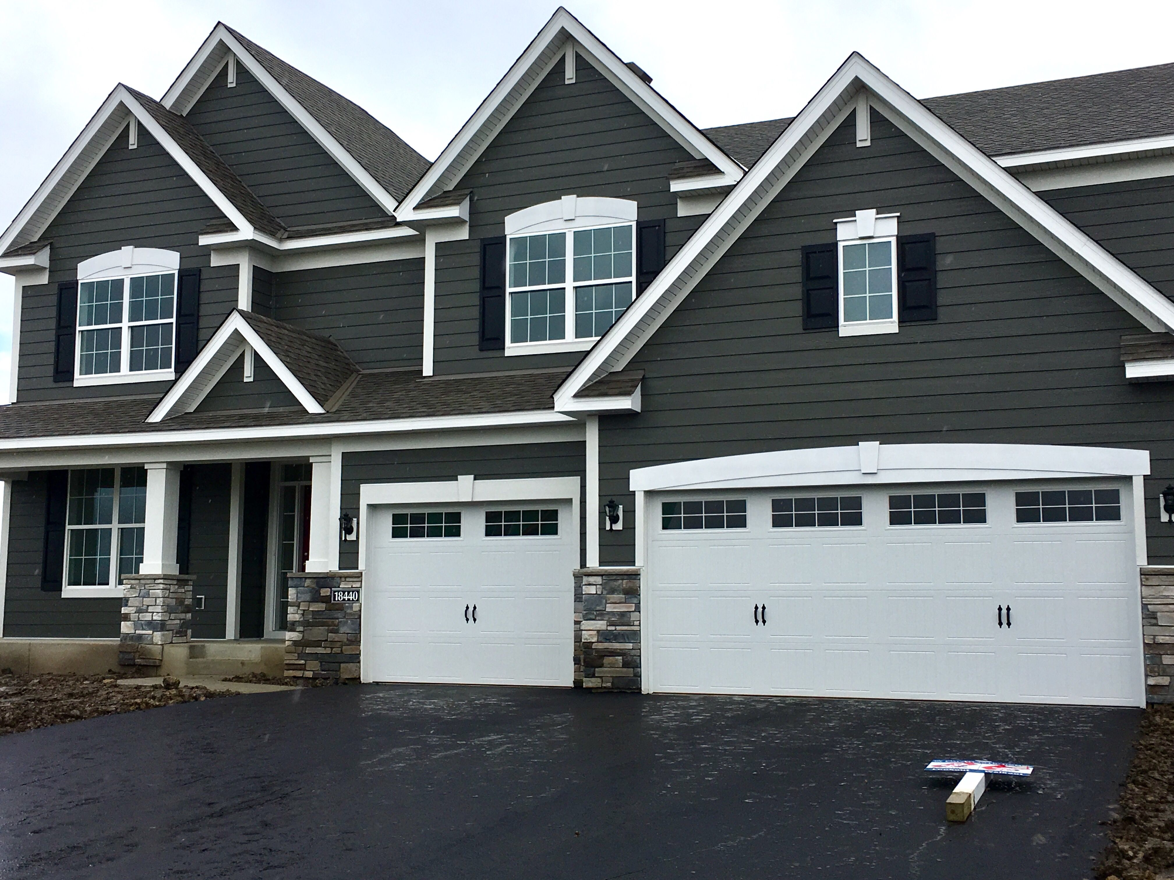 Lp smartside charcoal new house pinterest lp and house for Lp smartside prefinished siding colors