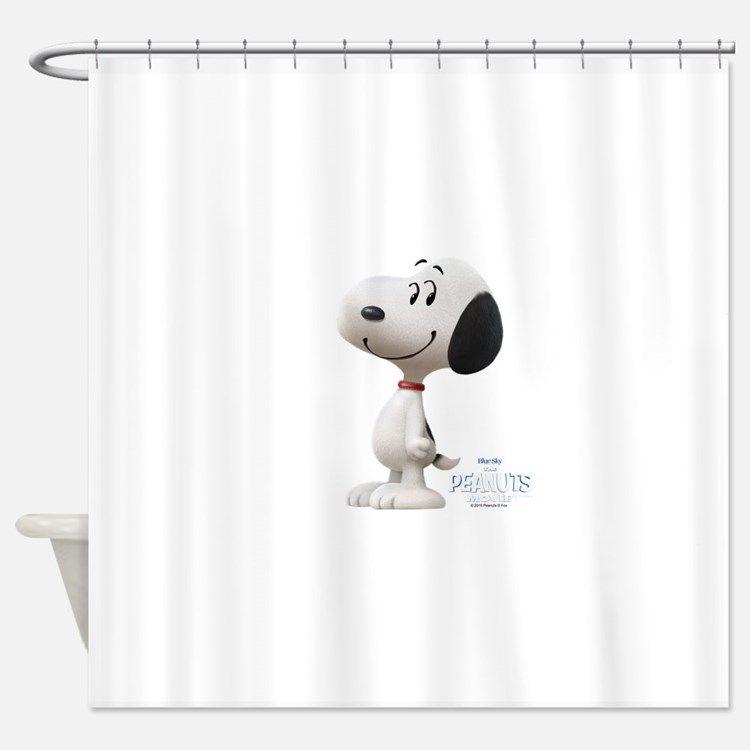 Peanuts Movie Bed U0026 Bath   CafePress. Peanuts MovieShower CurtainsBathroom  AccessoriesSnoopyPeanuts