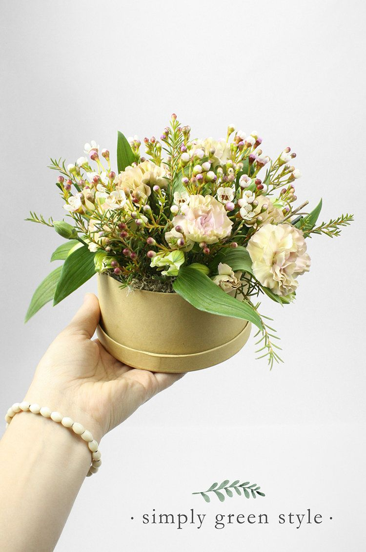 Do-It-Yourself Bloom Box | Large plastic bags, Floral foam and Green ...