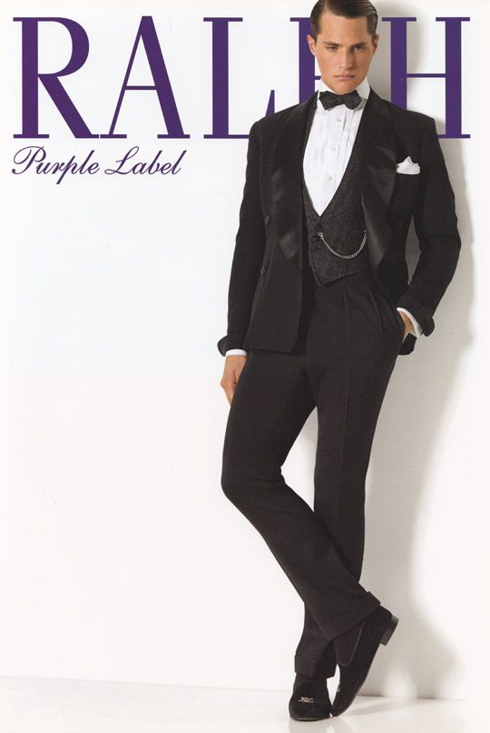 Posted in Mens Clothing | Tagged Black Tie, Dinner Jacket, Ralph Lauren,  Tuxedo