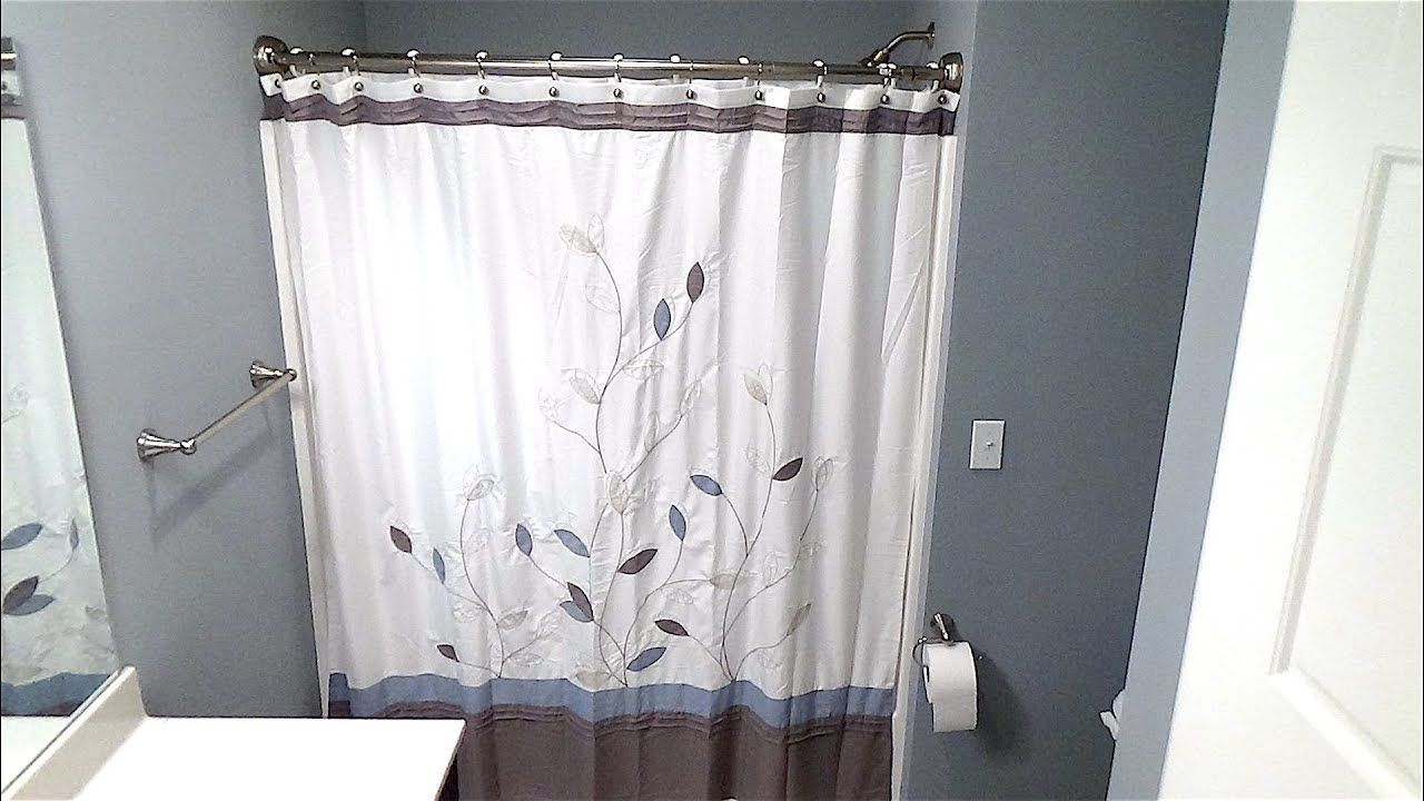 Try This 12 Ideas How To Install A Shower Curtain Rod Should Be