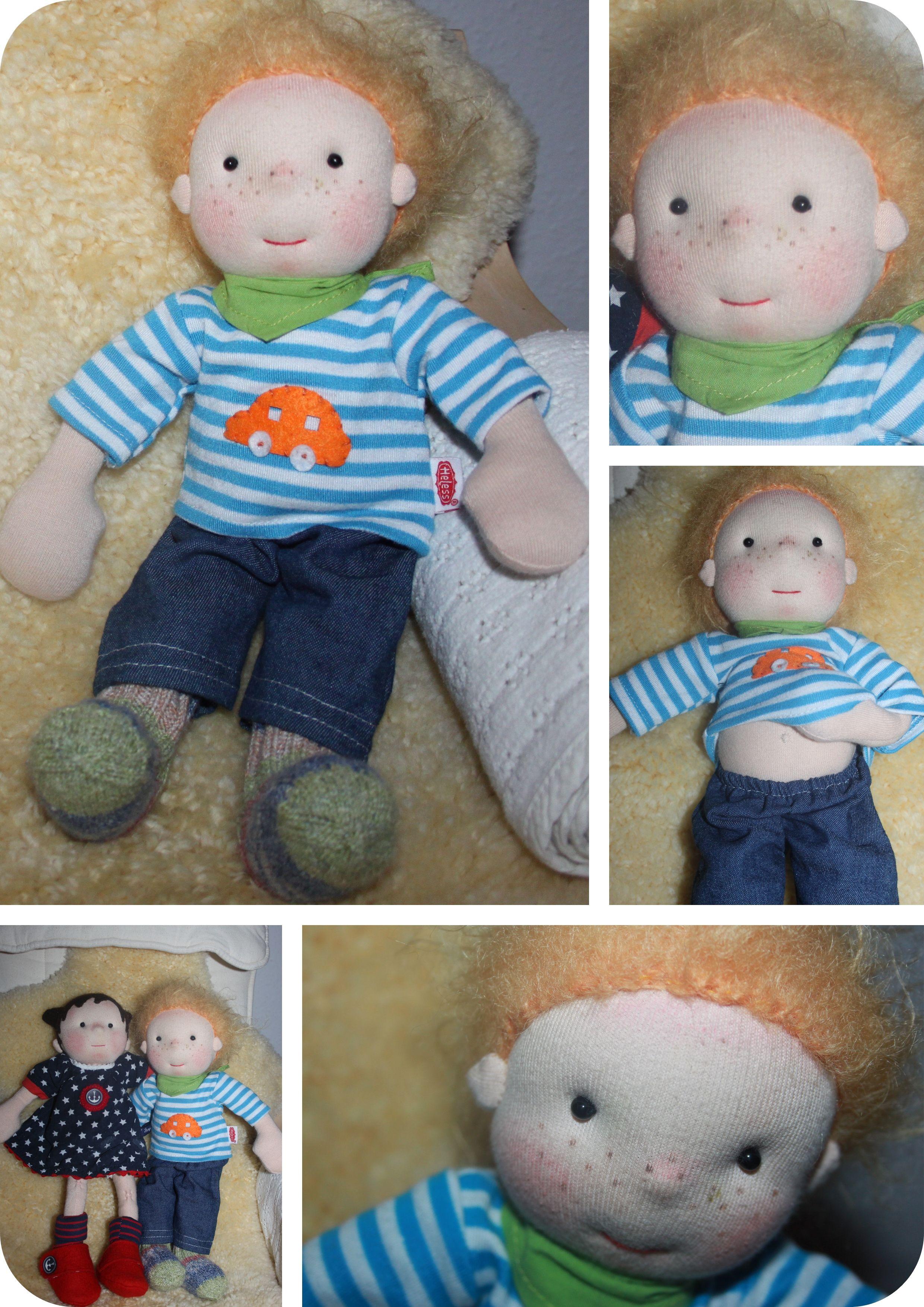 waldorf inspired doll boy // \