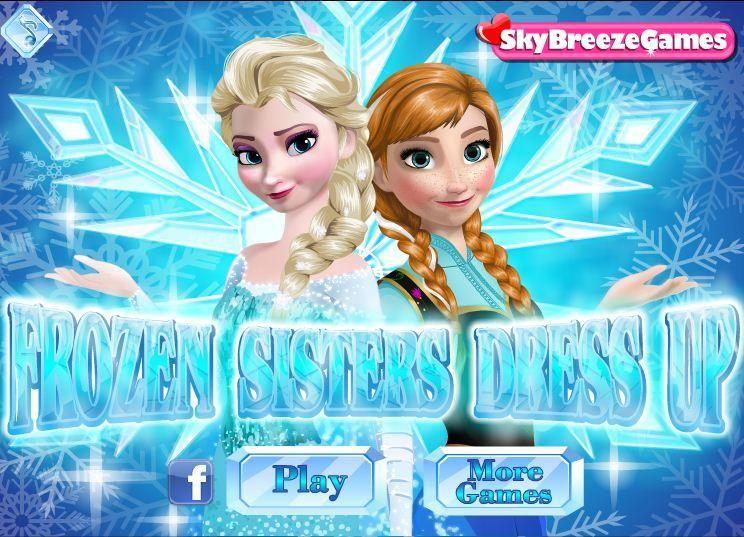 لعبة تلبيس فروزون ملكة الثلج Disney Princess Frozen Frozen Dress Up Disney Princess