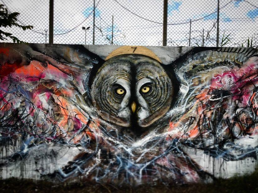 Street Artist Luis Seven Martins Aka L7m Kreiert Mit Seinen Magic