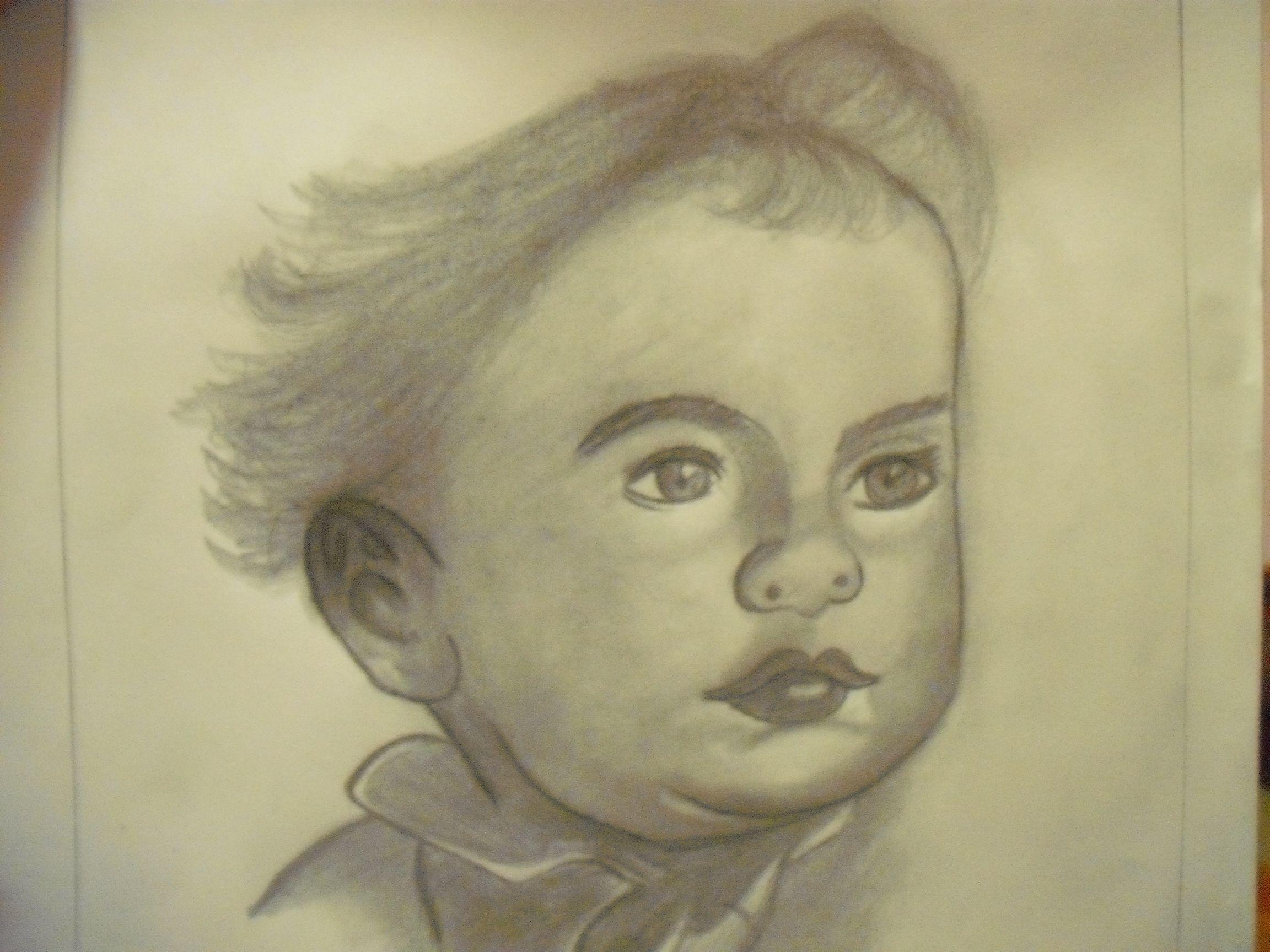 dibujo bebe
