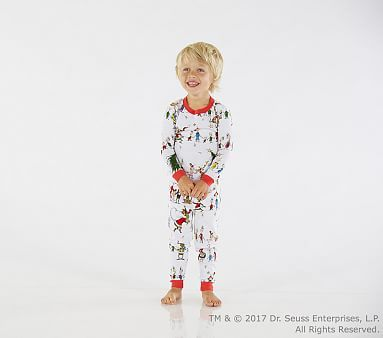 fe9f68dfefba The Grinch™ Cotton Tight-Fit Pajama  pbkids