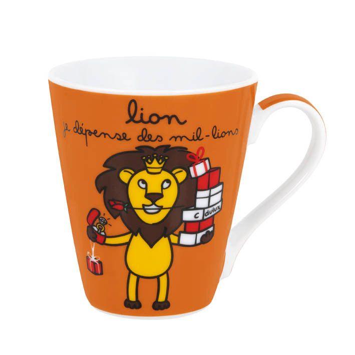 Mug Lion Derrière la porte http://www.deco-et-saveurs.com/derriere ...