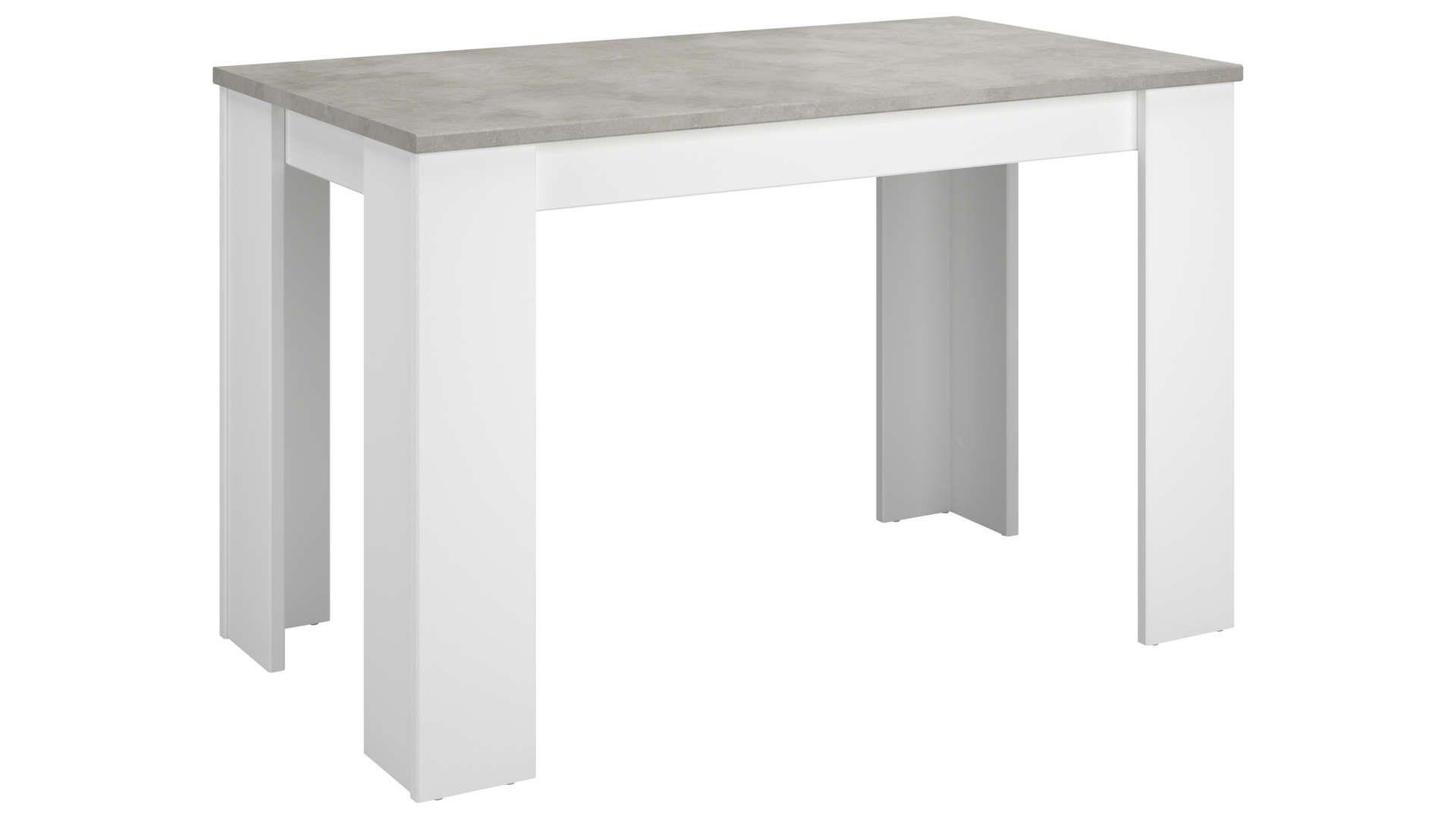 Table 120 Cm Fixe Alpha Table A Manger Rectangulaire Table Pliante Et Table