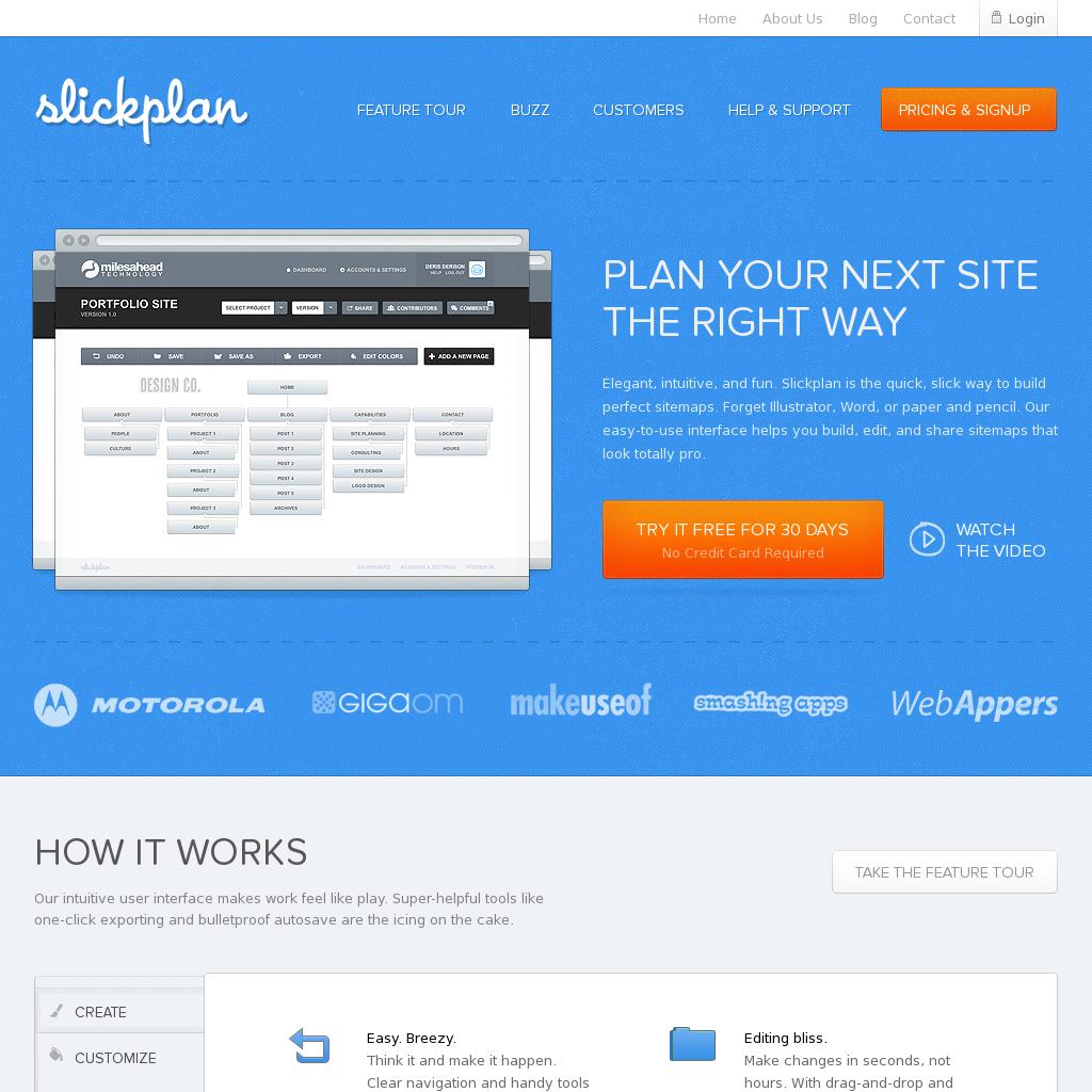 Sitemap Generator: Slickplan (Website Planning
