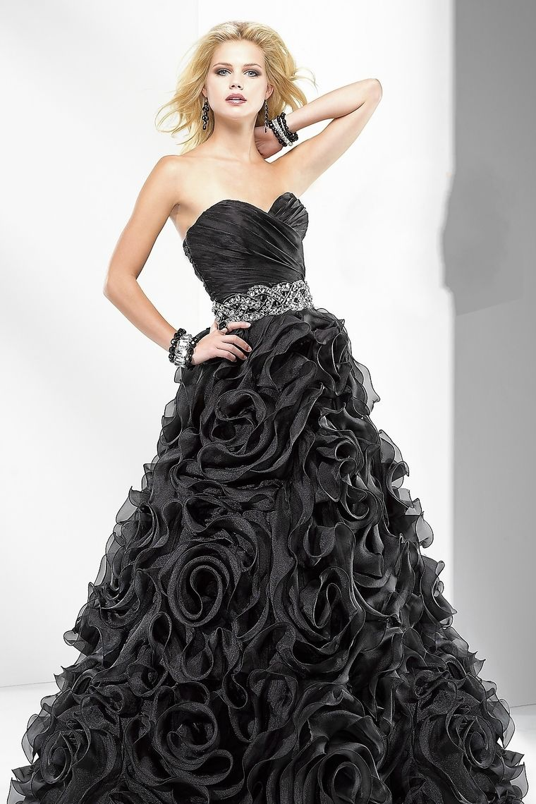 collection sweetheart a line ruffles floor length organza prom