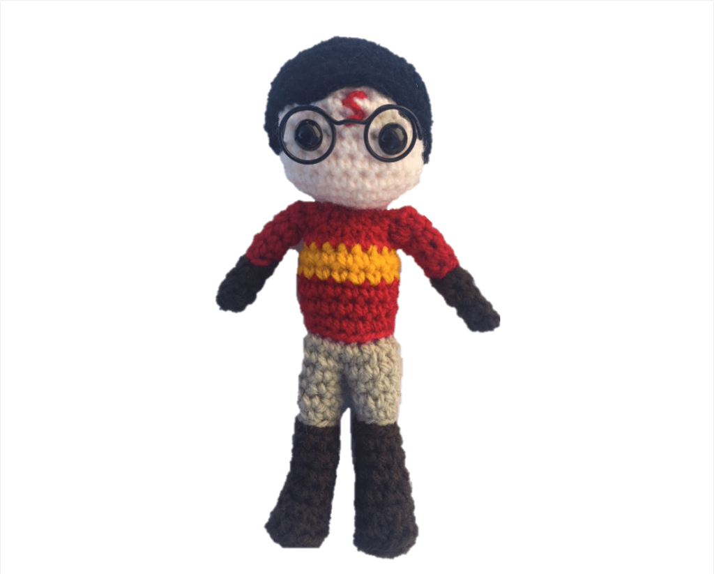 Amigurumi Harry Potter Crochet Pattern #amigurumi #harrypotter ... | 823x1024