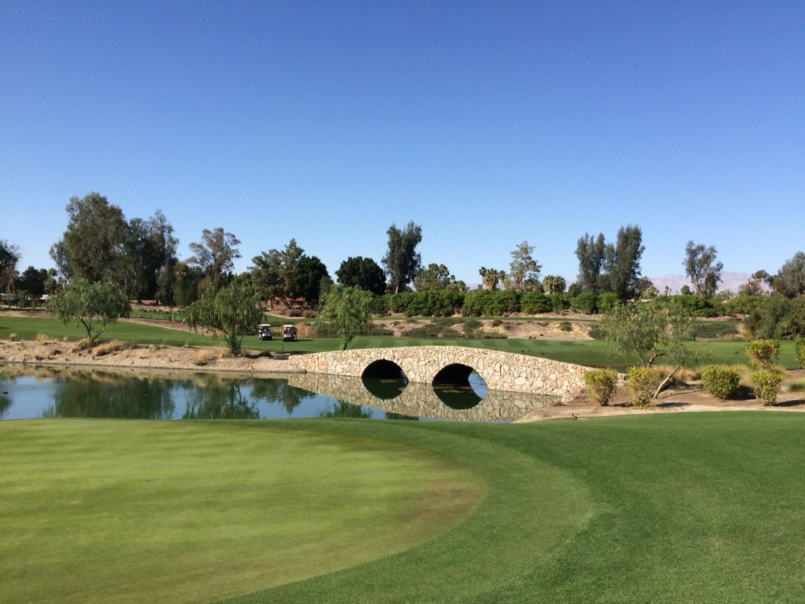 Indian wells golf resort players course golf resort