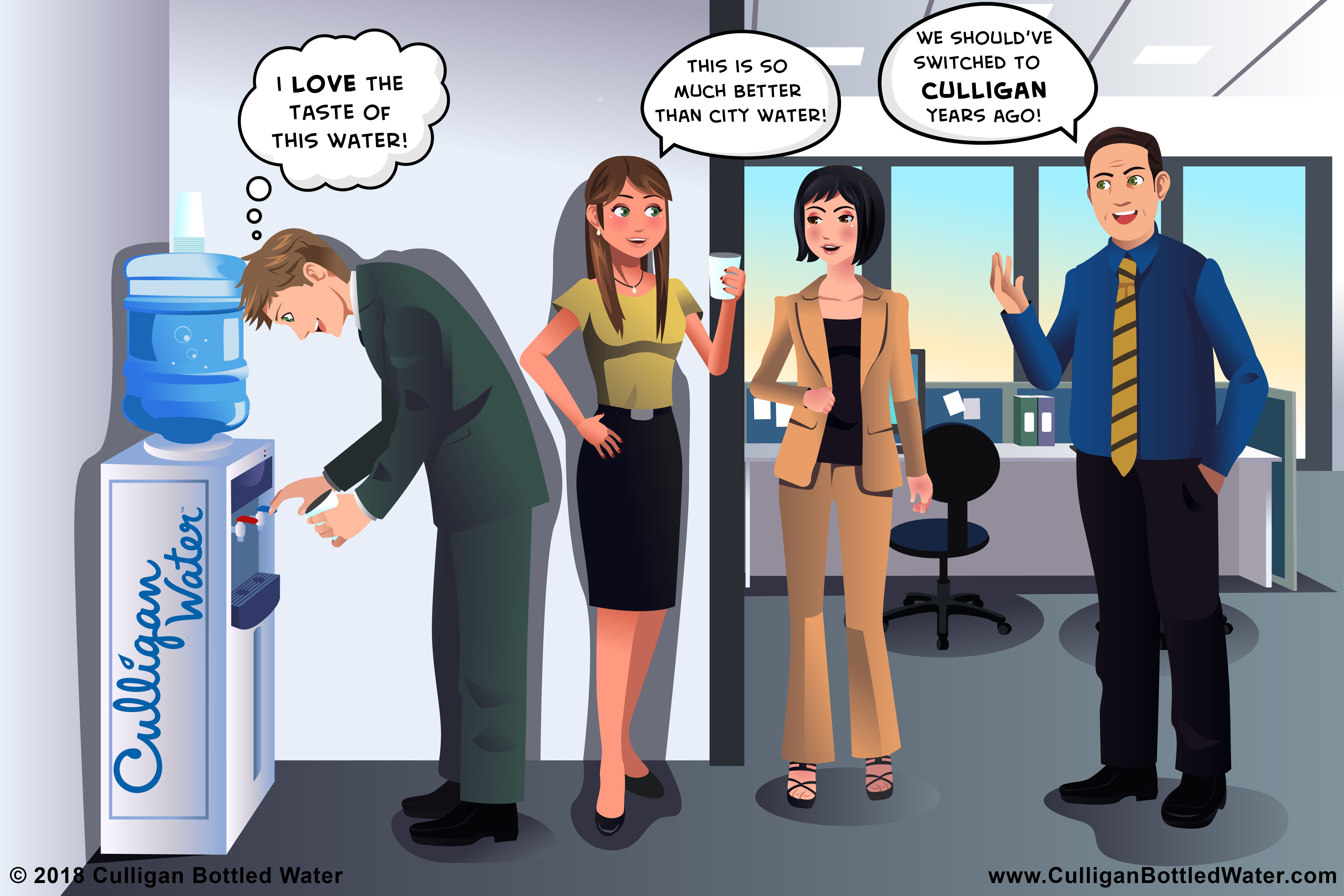 Find out what you have been missing with office water