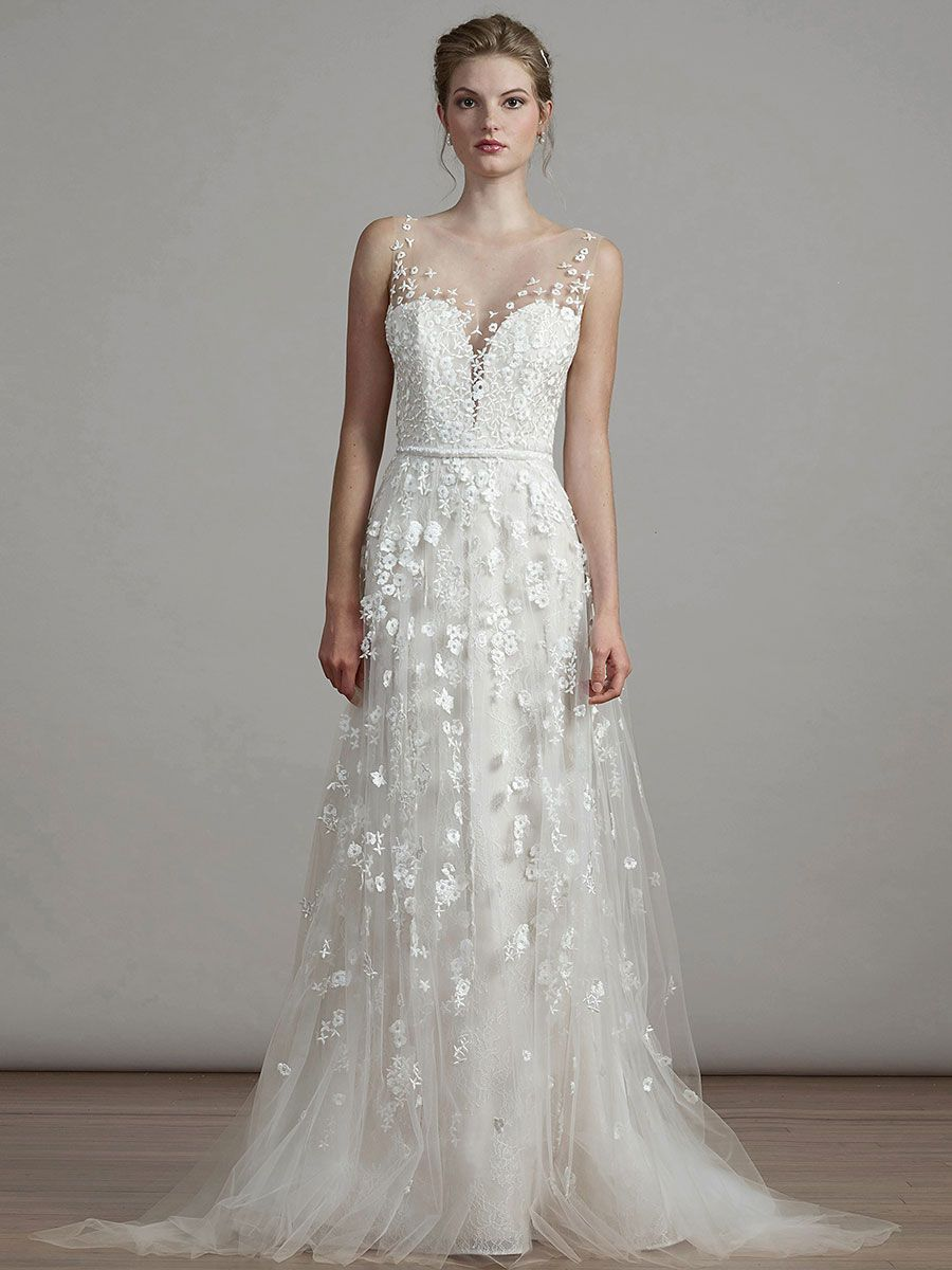 Wedding dresses with lace 2018
