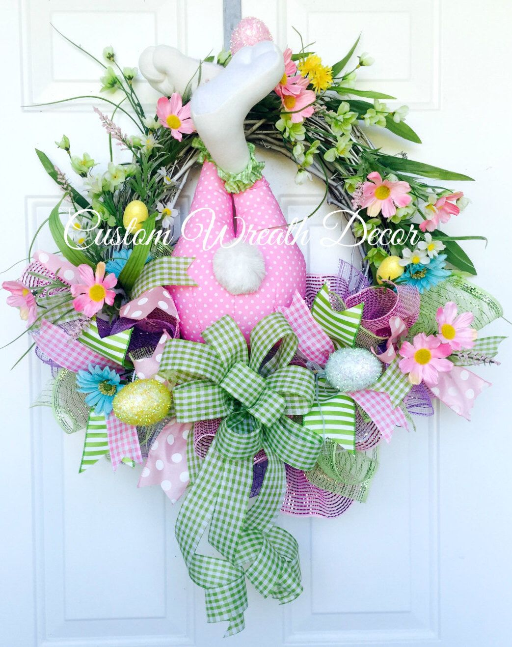 Easter Bunny Wreath, Bunny Butt Wreath, Bunny Bottom Wreath, Easter Grapevine Wreath, Spring Wreath by CustomWreathDecor on Etsy https://www.etsy.com/listing/269997408/easter-bunny-wreath-bunny-butt-wreath