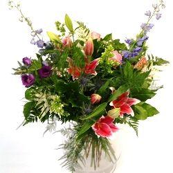 Country Garden Flower Bouquet Hand Tied Hand Tied Bouquets Flowers Garden Bouquet