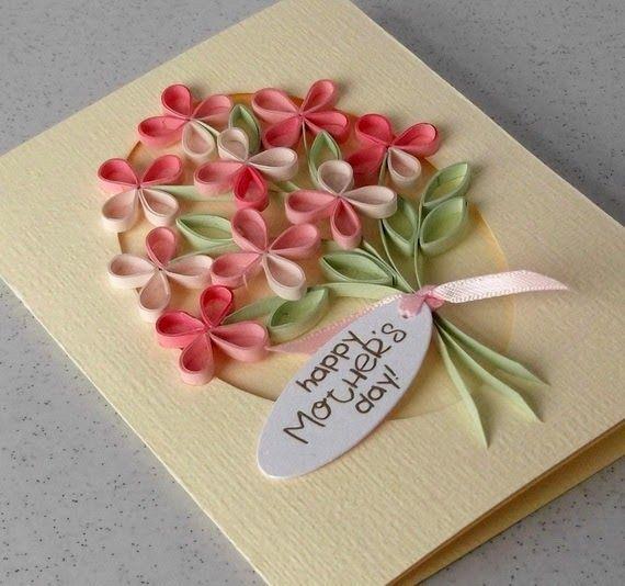 imagenes de tarjetas de papel para el dia de la madre - Buscar con Google