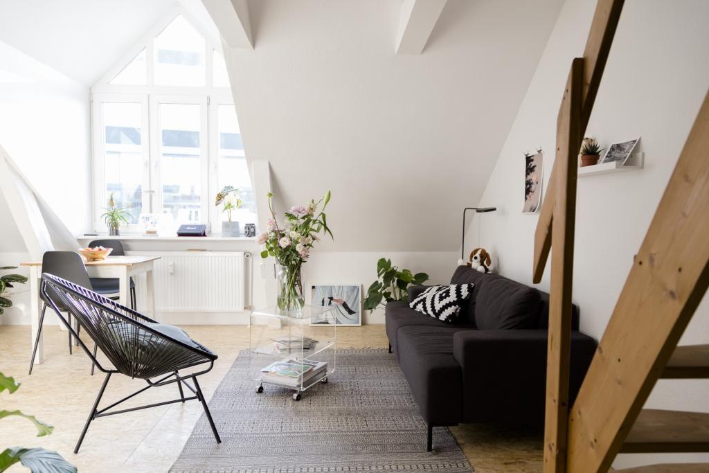 Wohnzimmer Dachgeschoss ~ Wohnzimmer ideen dachgeschoss vintage weißes badezimmer mit