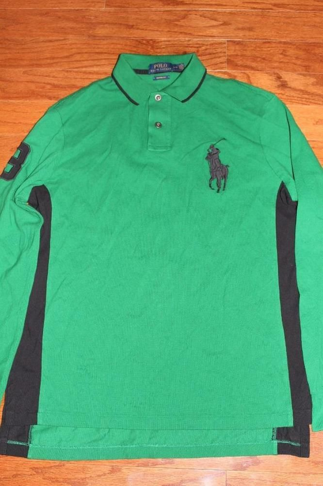 big pony polo shirts for men ralph lauren large logo polo