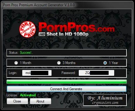 Генератор паролей порно