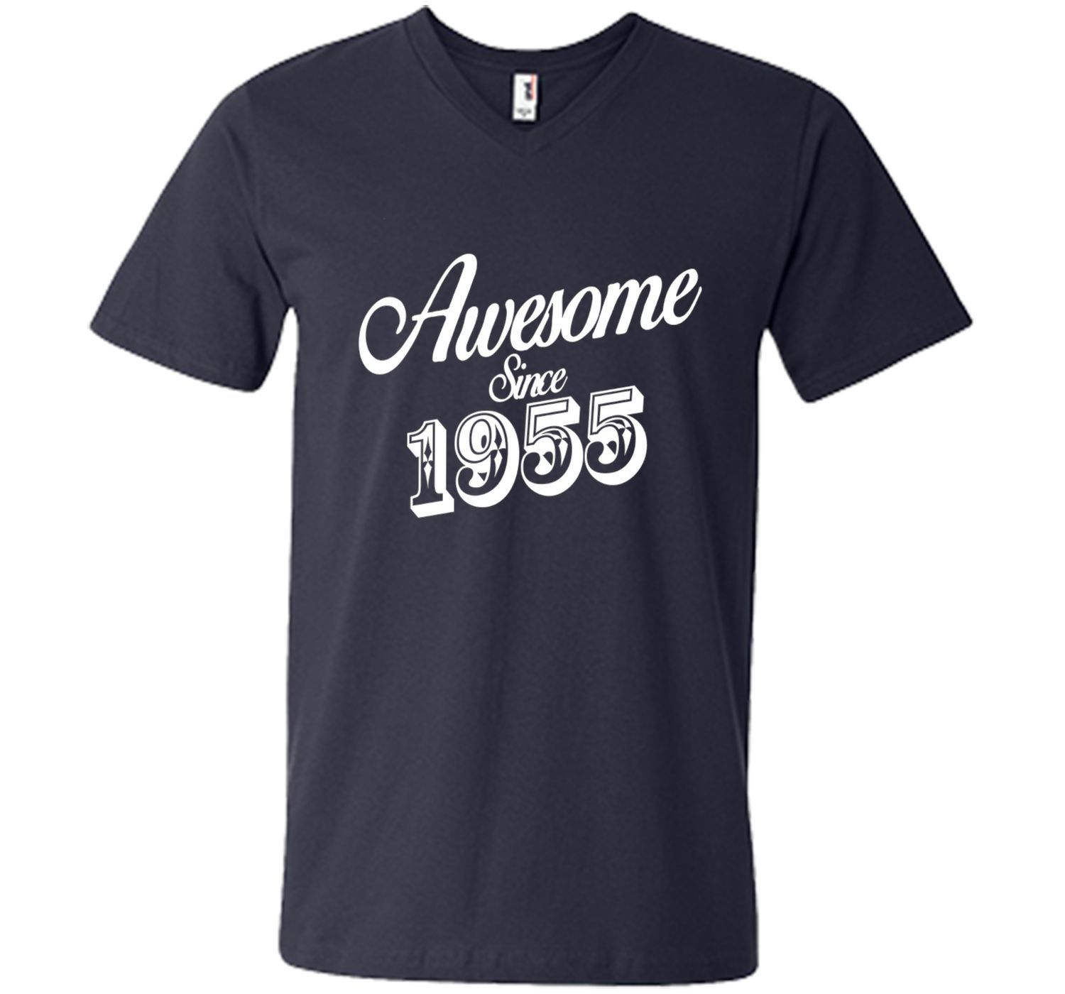Awesome Since 1955 - 61th Birthday Gift Anniversary T-shirt